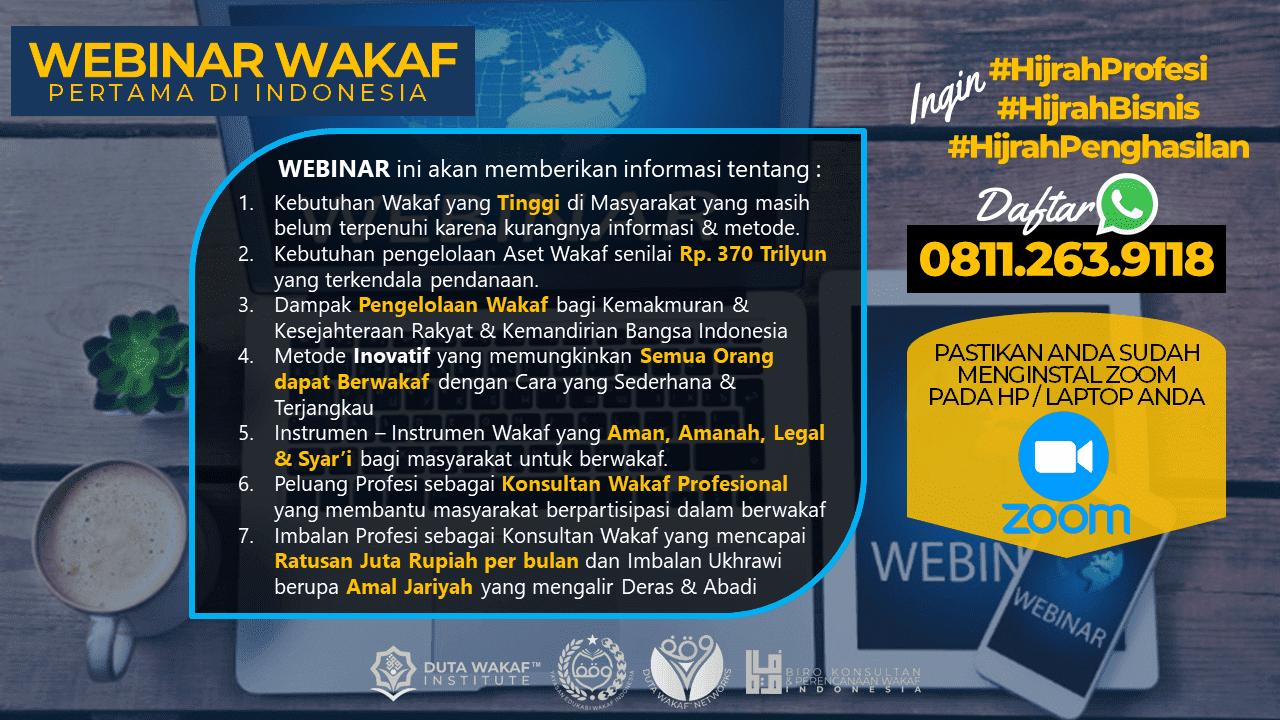 Webinar Wakaf