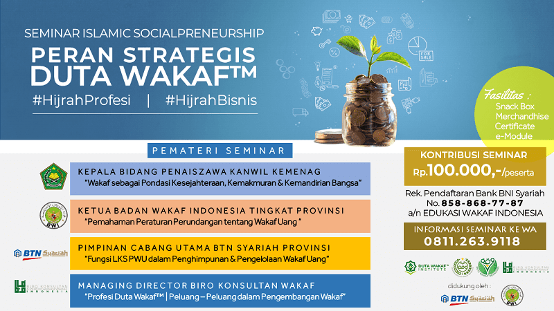Seminar Islamic Social Preneurship