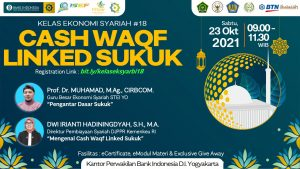 """KELASEKSYAR #18 – """"Cash Waqf Linked Sukuk"""""""